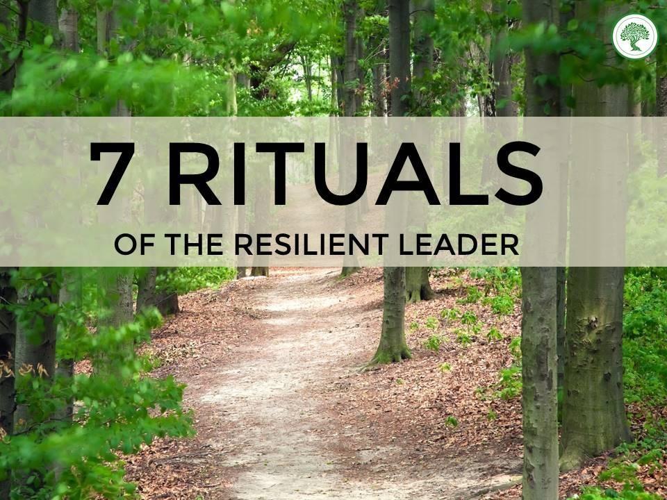 7 rituals blog