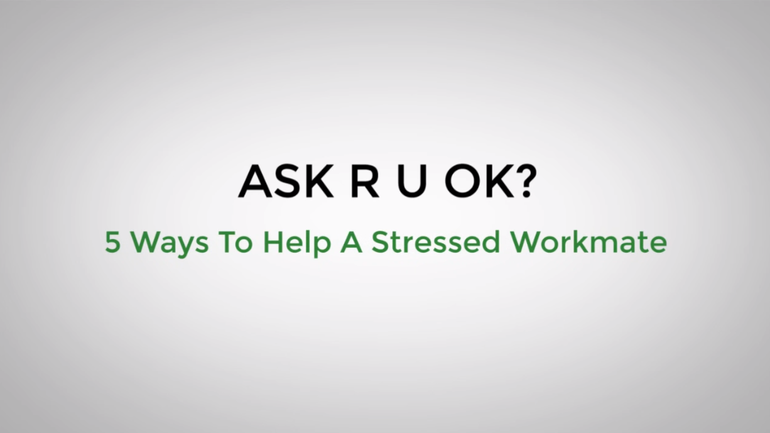 5 Ways To Help Stressed Workmate