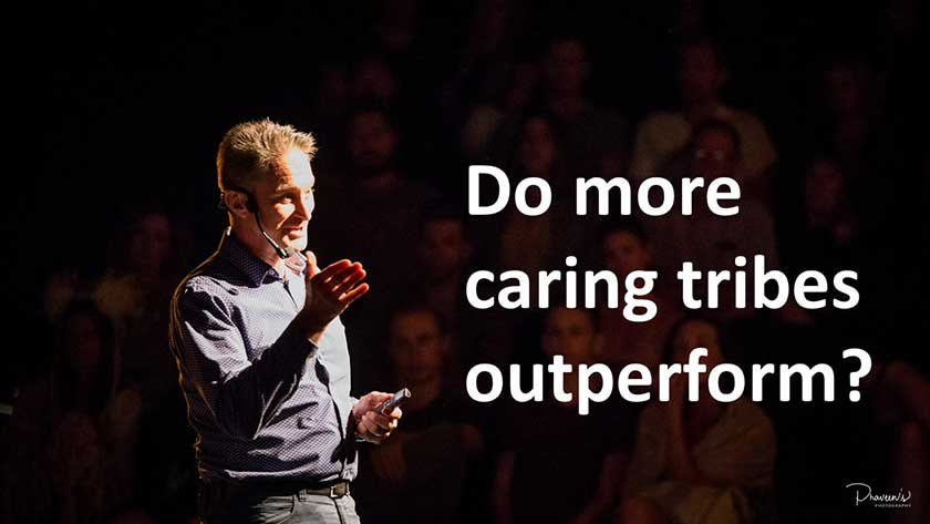 Do More Caring Trivbes Outperform