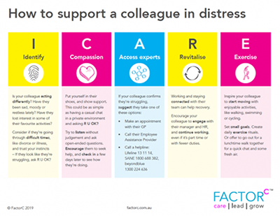 How To Support A Colleague In Distress Featured