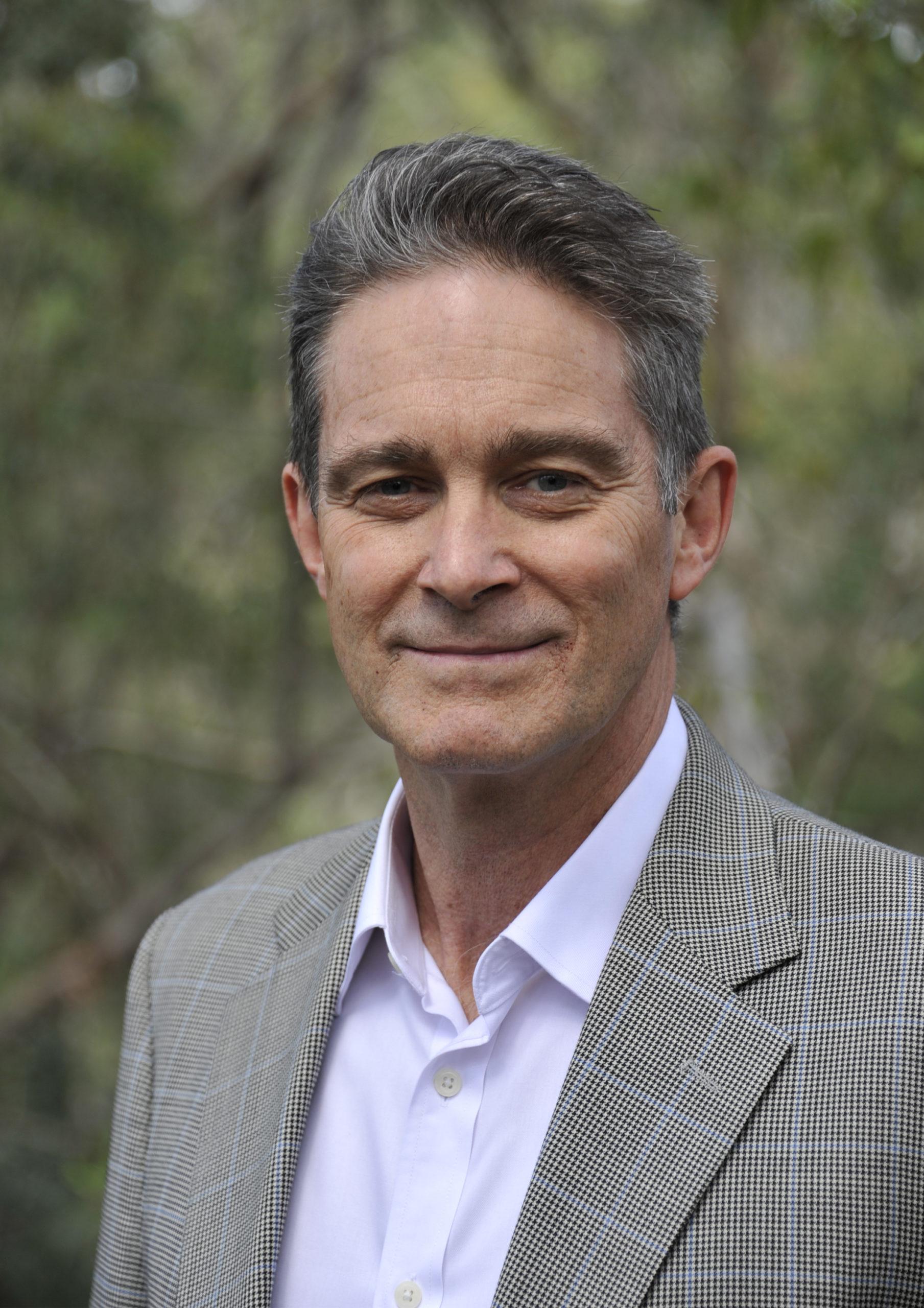 Portrait Graeme Cowan In Bush